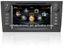 Wireless Auto radio navigation car dvd player for Audi A6