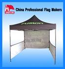 Outdoor advertising pop up tent