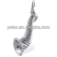 beautiful gift horn of plenty charm