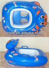 child inflatable swim pool floating boat tube ship