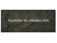 Black basalt natural split
