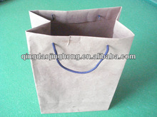 kraft paper bag with pp rope