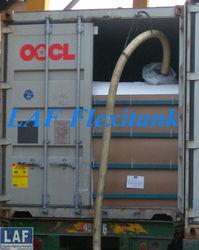 disposable convenient flexibag in 20ft container