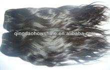 cheap stock virgin remy peruvian hair weft