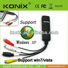 easy play and plug easycap usb video grabber for Home AV Devices DVD