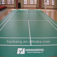 badminton pvc olahraga lantai