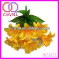 flores amarelas páscoa artificiais lírio