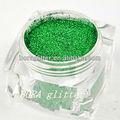 verde glitter em garrafas de vidro para venda