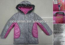 child girl padded winter jacket