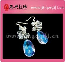 Mesmerizing Earrings Fashion Aquamarine Graduated Dangle Journey Earrings