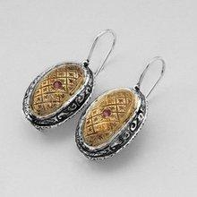 A23042Z Silver & Gold Earrings