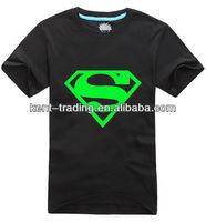 new design cotton LED T-shirt
