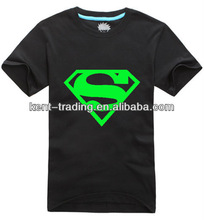 new design cotton LED T-shirt