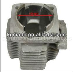 40mm Bore Cylinder Block for 2-Storke 47cc(40-6 Engine) Pocket Bike Engine Parts