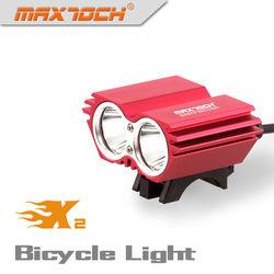 Maxtoch X2 2000LM 4*18650 Pack Bright Intelligent Light Bike Spoke Light