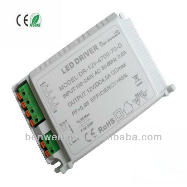 manufacture price high power 70w led driver