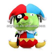 plush toy clown&plush sea rover&soft toy pirate