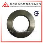 China OEM ISO901 custom made precision 4 hole steel plane flange