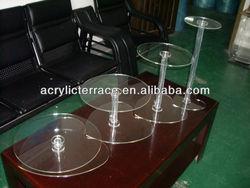crystal acrylic cupcake stand,cake display holder rack