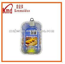rectangular aluminum foil container