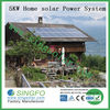 NEW DESIGN HOME USING 5KW SOLAR POWER SYSTEM WITH A GRADE SOLAR PANEL
