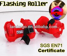 Heel Glider Street Glider Flashing Roller Skate ( SGS EN71)
