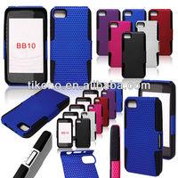 Silicone case for Blackberry BB10 pc hard plastic case