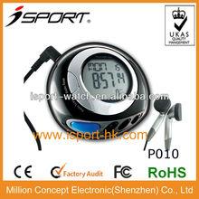 7 days memory 2013 Digital Free Logo Sensor FCC CE 2D Mechanical Step Counter