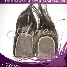 retailers general merchandise virgin unprocessed brailian hair top closure pieces