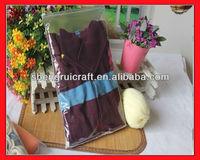 Zipper Closure PVC Clothes Bag