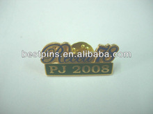custom souvenir brand pins/badges, promotional stamping metal lapelpins with own logo