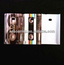 for LG optimus L3 E400 tape hard case skin cover