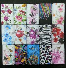 TPU flower case rubber cover for LG optimus L3 E400