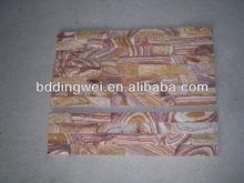 yellow natural China stone veneer