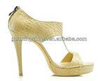 Woman high end sandals