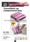 40x60CM PET+PA 6MM travel/roll-up Vacuum compressed bag
