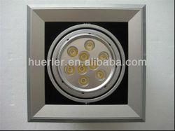 9w led grille cob light day light energy saving lamp led grille light