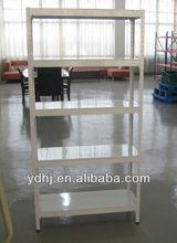 Easily Assembled Angle iron shelf/Multifunction 5 Layers Angle Iron Metal Display Shelf Rack