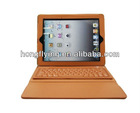 Accforcity Ipad 2 and 3 Case with Built-in Bluetooth Keyboard Leather Cover with Keypad, case for iPad 2/3/4