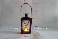 Black Led Wrought Iron Lanterns/iron Candle Lantern