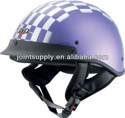Motorcycle half face helmet dot