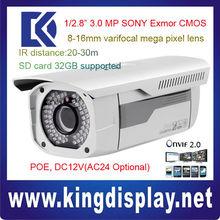 DAHUA IPC-HFW3300 3 Mega Pixel POE onvif2.0 outdoor low temperature use IP IR camera 30 meters Slovenia User authentication