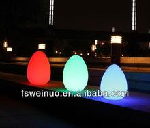 LED light decoration EGG shape waterproof