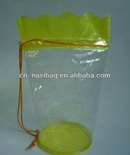 High quality pvc drawstring bag for promotion (NV-P0298)