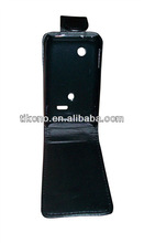 simple super drable original flip leather case for sony ericsson xperia tipo st21i