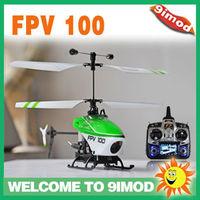Walkera Mini Lama FPV 100 +DEVO F7with 5.8G FPV RC Helicopter