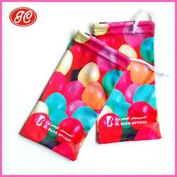 Guangzhou Fabric Microfiber Eyeglasses Bags/Pouches Manufacturer