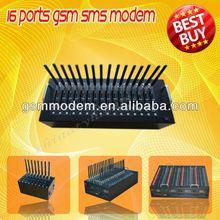 16 pool USB gsm modem support sms/ usb edge modem driver