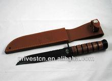 440 S/S fixed blade custom hunting knives damascus PK-5395