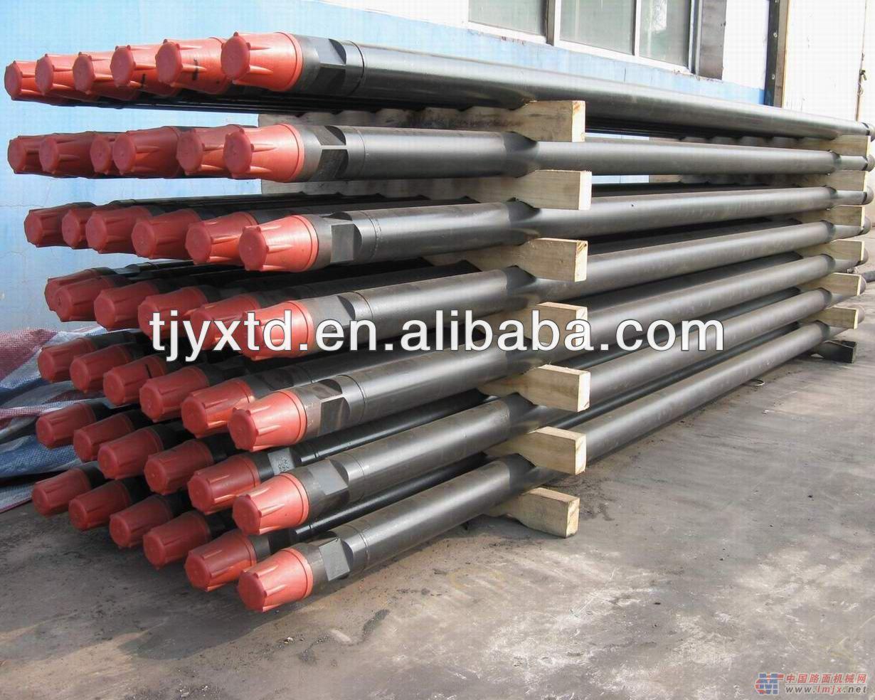 Grau s135 drill pipe, haste de perfuração da tubulação para a venda, petróleo tubo de perfuração